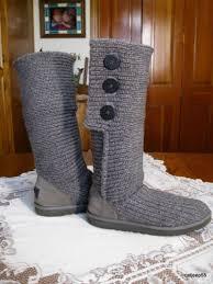 ugg australia cardy sale ebay for sale ugg australia 5819 cardy gray 3 buttonknee high knit
