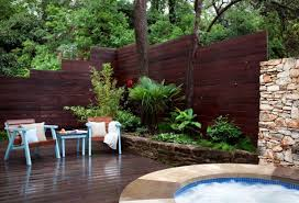 decorative fencing for patios home design planning modern at