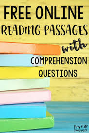 reading comprehension materials best 25 reading comprehension ideas on reading