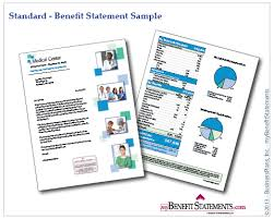 what is a employee benefit statement or a total compensation