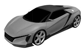 sports car drawing honda shows baby nsx affordable sportscar in tweet prototype