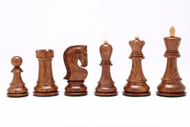russian zagreb chess pieces in sheesham wood 3 9