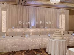 tulle backdrop chair covers of lansing columns and backdrops
