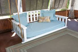 bed porch swing the west ashley free 1 home hanging beds swinging