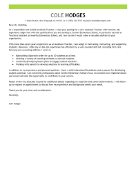 concise cover letter best assistant cover letter exles livecareer
