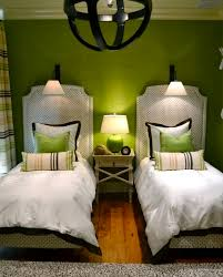 Decorating A Green Bedroom 22 Guest Bedrooms With Captivating Twin Bed Designs Twins Black