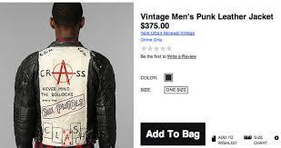 Meme Jacket - a vintage punk leather jacket cringeworthy know your meme