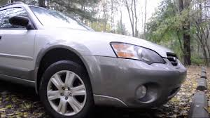 red subaru outback 2005 regular car reviews 2005 subaru outback youtube