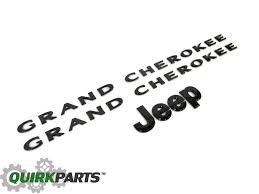 jeep black emblem 2013 2014 jeep grand black emblem nameplate kit mopar