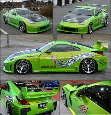nissan 350z race car chargespeed chargespeed cs722fkw super gt wide body kit 8pc