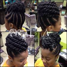 Chunky Flat Twist Hairstyles by 50 Updo Hairstyles For Black Women Ranging From Elegant To