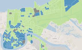 New Orleans On Map Louisiana And New Orleans Election Results