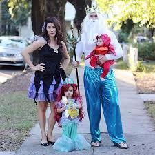 Mermaid Halloween Costume Adults Thegrayrubydiaries Happy Halloween Mermaid Family