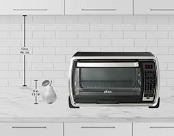 Oster Digital Convection Toaster Oven Oster Large Capacity Countertop 6 Slice Digital Convection Toaster