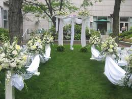 ceremony ideas beautiful outdoor decorations planner and wedding