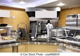 boulanger cuisine baguettes pains boulanger cuisine préparer cafétéria image