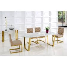 gold dining table set marble dining room sets in addition fascinating dining room