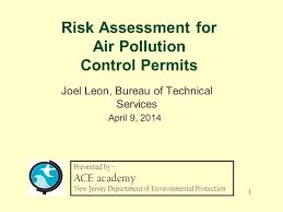 air bureau risk assessment for air pollution permits joel bureau