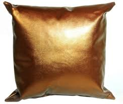 metallic pu leather cushion cover buy pu leather cushion cover