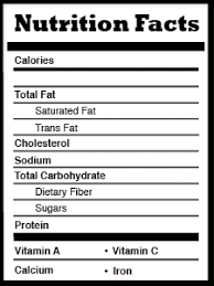 blank nutrition facts template nutrition label template images templates design ideas