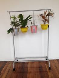 plant stand diy hanging pot and pan holder pots pans in kitchen