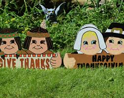 thanksgiving turkey outdoor decorations turkey yard stakes