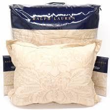 Ralph Lauren Comforter Set Ralph Lauren Fleur Du Roi Queen Comforter Set 4pc Floral Gold Tan