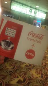 at the with amc theatres and coca cola