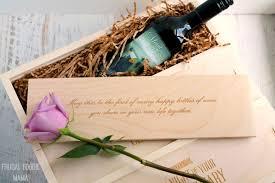 unique wedding gift frugal foodie wineforawedding a unique wedding gift for