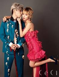 k pop js hyuna trouble maker photoshoot trouble maker justify their chemistry as a couple for ceci kpop