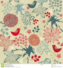 vintage floral wrapping paper floral seamless pattern in vector stock photos image 22489923
