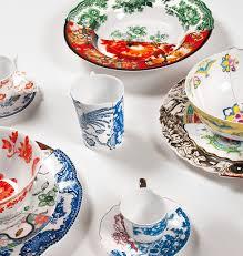 porcelaine peinte main vaisselle en porcelaine hybrid peinte à la main décoration