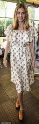 donna air joins laura whitmore at clothing launch breakfast