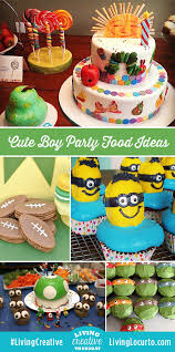 birthday ideas boy boy birthday party food ideas