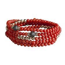 red beads bracelet images 4 tours beads bracelet necklace coral s r anil arjandas jewels jpg