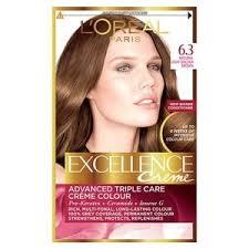 light golden brown hair color excellence creme 6 3 light golden brown hair dye superdrug