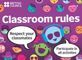 printable instructions classroom teens classroom rules posters dark purple teachingenglish