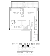 floorplans 640 north wells luxury apartments river north chicago