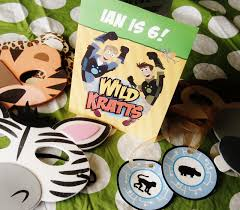 animal masks and coordinating creature power discs wild kratts