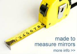 made to measure mirror precision glass