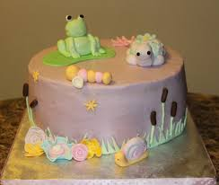 turtle baby shower decorations s cakery frog and turtle baby shower cake