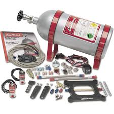 edelbrock 70001 performer single stage nitrous kit for 4150 squar