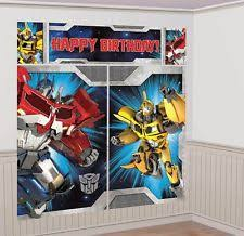 optimus prime birthday party transformers birthday child party supplies ebay