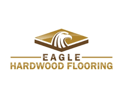 eagle hardwood flooring logo design