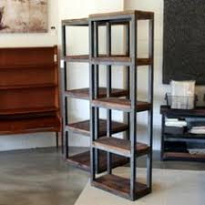 bookshelves metal bookcases ideas bookcases wood metal and glass crate and barrel