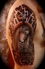 religious half sleeve designs