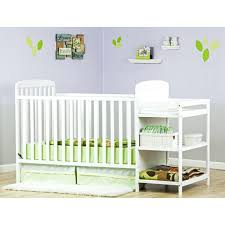 4 In 1 Convertible Crib With Changing Table White Crib Changer Combo On Me 4 In 1 Convertible Crib With