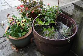 Half Barrel Planter by Old House Home Blog Archive How To Make A Water Feature Out
