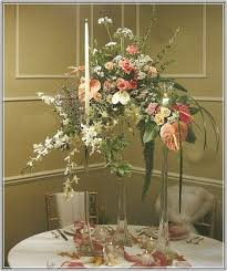 Tall Glass Vase Centerpiece Ideas Tall Glass Vase Centerpieces Home Design Ideas