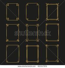 Art Deco Design Elements Art Deco Border Stock Images Royalty Free Images U0026 Vectors